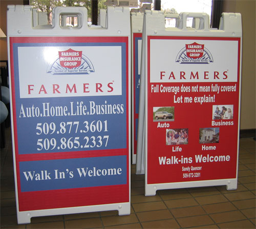 Yakima Signs And Portable A Frame Signs